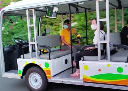 Tập đoàn  Vingroup thử nghiệm xe ô tô điện không người lái