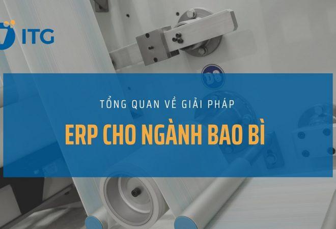 Tổng quan về phần mềm ERP cho doanh nghiệp bao bì