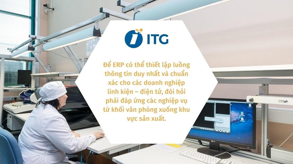 chức năng của phần mềm ERP cho ngành linh kiện - Điện tử